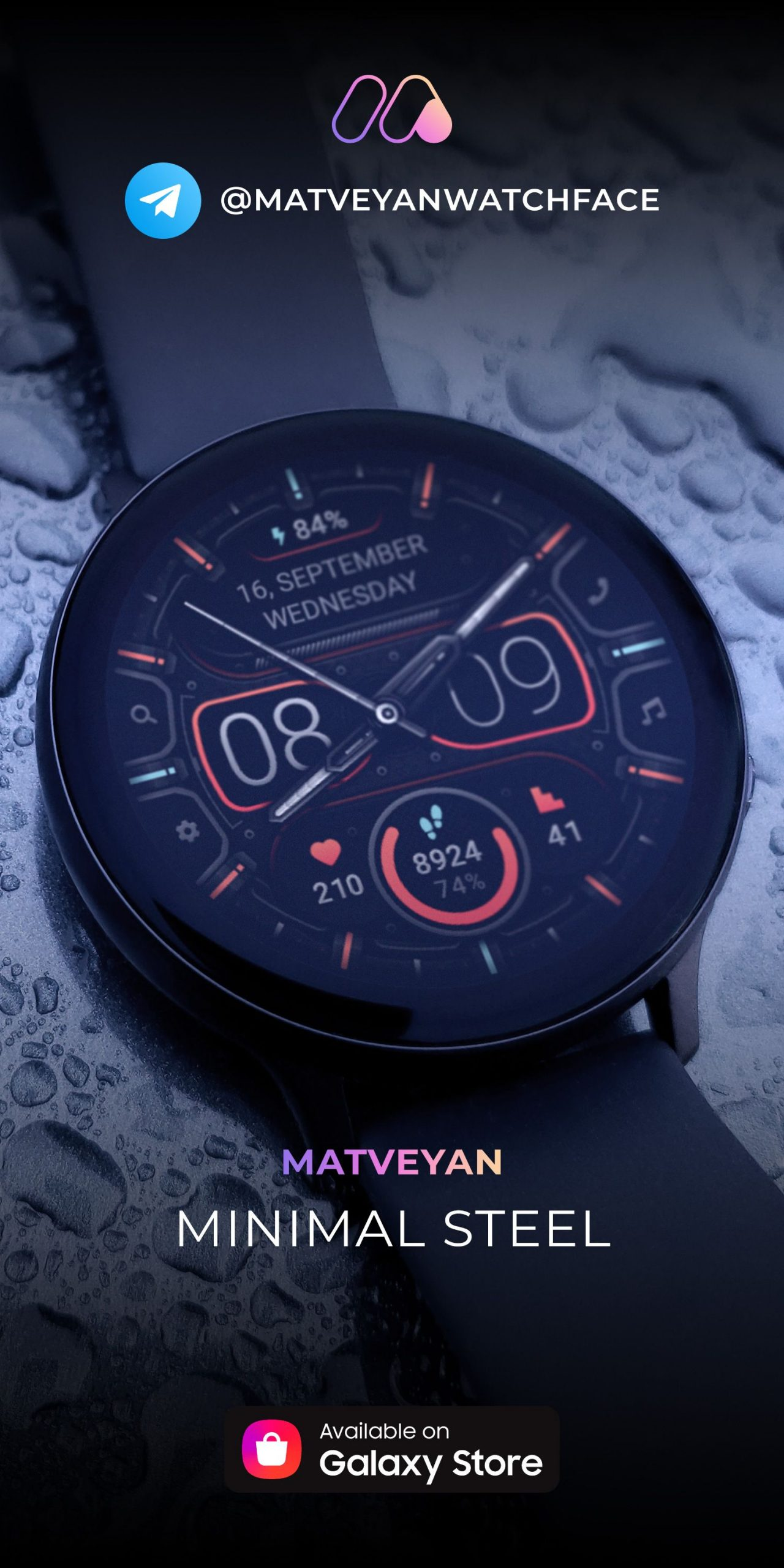 Watch Faces For Samsung Galaxy Watch